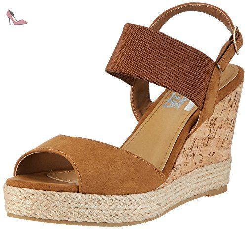 compensées Camel 63575 Refresh Braun chaussures femme marron Evx4pq