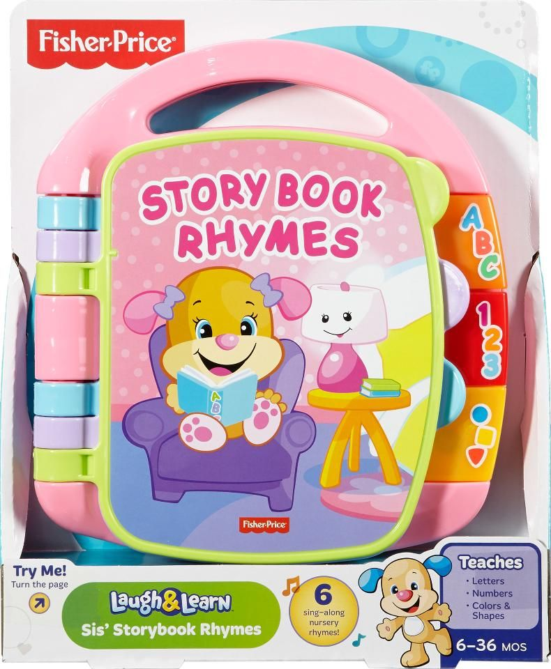 Fisher Price 20laugh 20 20learn 20storybook 20rhymes