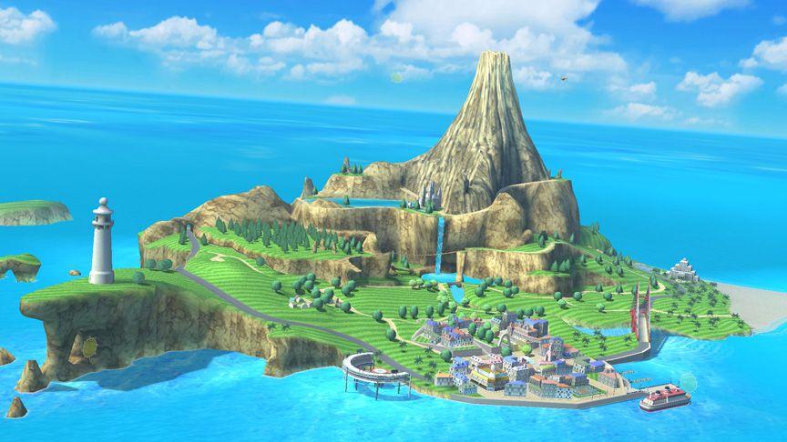 Wuhu Island Wii sports resort, Island, Scenery