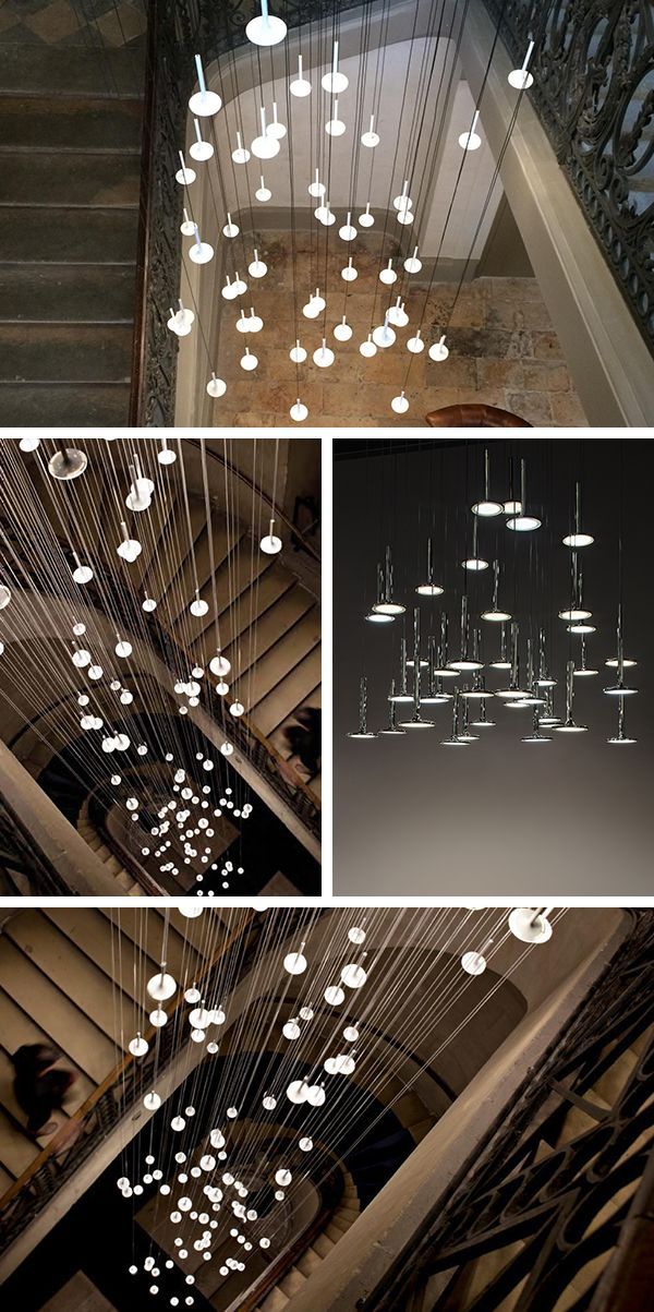A Star Rain To Dress Up A Descent Of Stairs. Blackbody Design Studiou0027s  Magical Idea