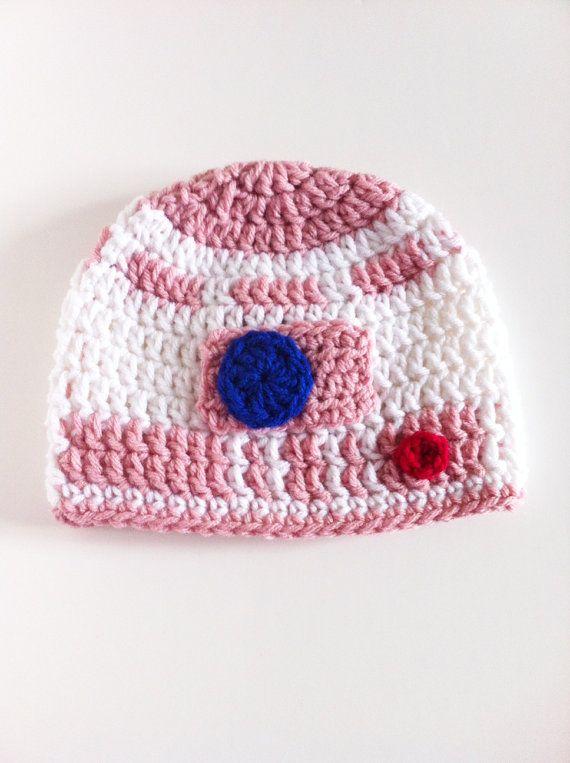 f74453c710d Pink R2D2 Hat Crochet Star Wars Beanie Ready by ChucksForChancho ...