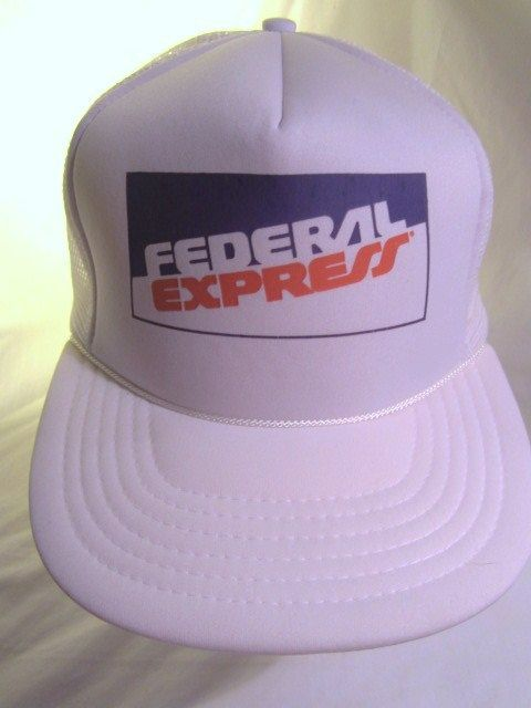 6eb950cb83d Federal Express Vintage Snapback Baseball Cap Trucker Hat FedEx Foam Mesh  Retro  federalexpress  fedex  TruckerHat