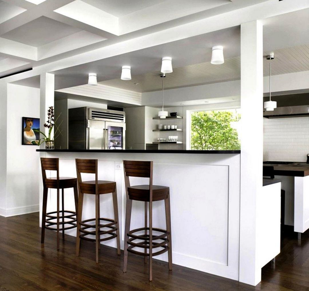 24 Top and Amazing Small Kitchen Bar Design Ideas For
