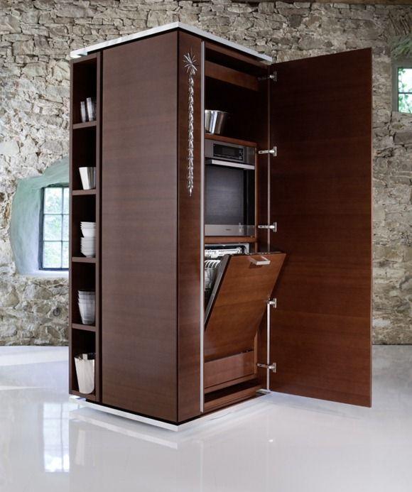 Ideas para ahorrar espacio en casa Particularidad organizativa de
