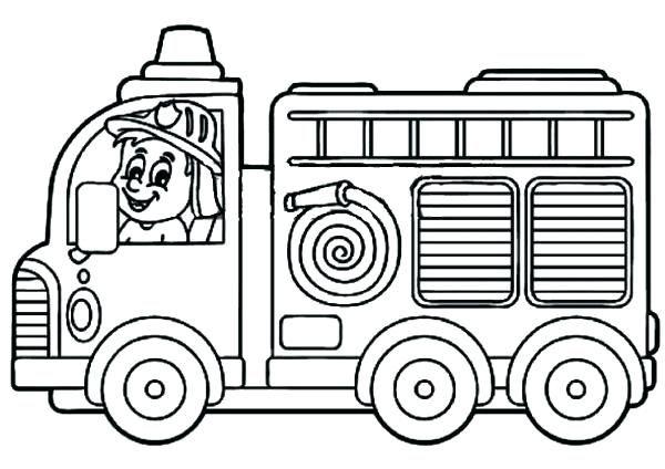 Coloriage Camion Des Pompiers.Coloriage De Pompier Gratuit Imprimer Coloriage Pompier A Imprimer