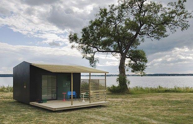 Casa minúscula tem apenas 15 m² (Foto: Divulgação)