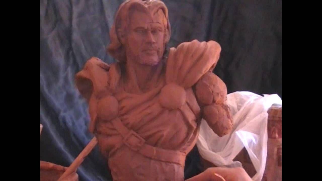 Busto figura: Thor / 2º sesion