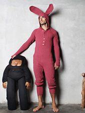 Blamo Knit Bunny Suit