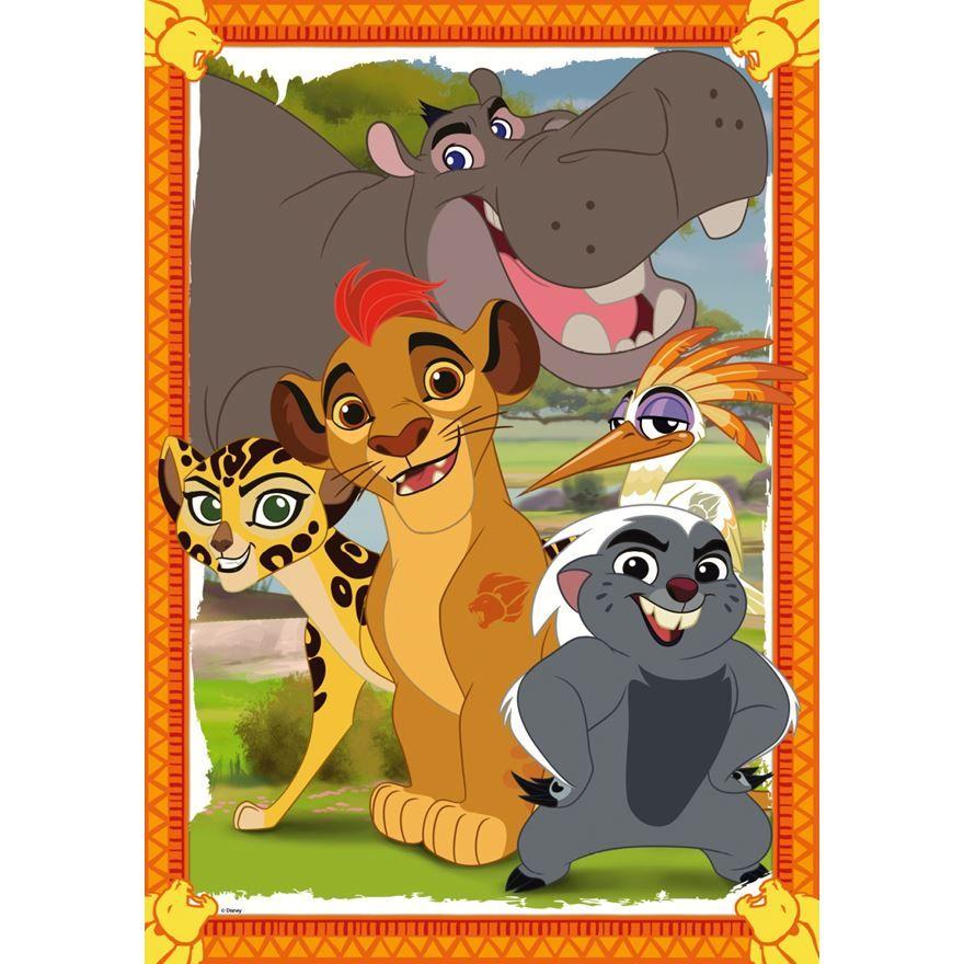 Disney Lion Guard Giant Floor Puzzle (с изображениями)