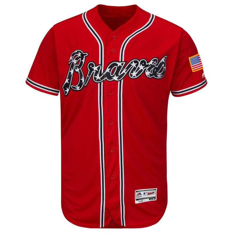 newest 9202c 65188 Atlanta Braves Majestic Alternate Flex Base Authentic ...