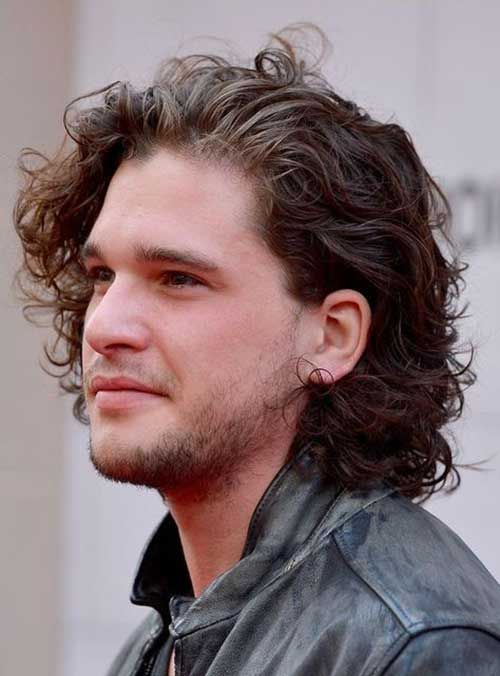 Hairstyles For Men With Curly Hair Extraordinary 19Curly Hairstyle Men  Db  Pinterest  Hairstyle Men Curly