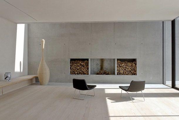 Pin de Anupama Lalvani en white, black, fire and green Pinterest - paredes de cemento