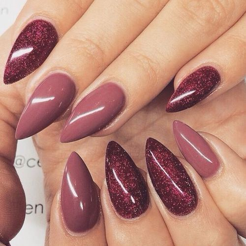 nails, nail art and manicure image on We Heart It - 15 Lovely And Trendy Nail Designs Rounding, Make Up And Nail Nail