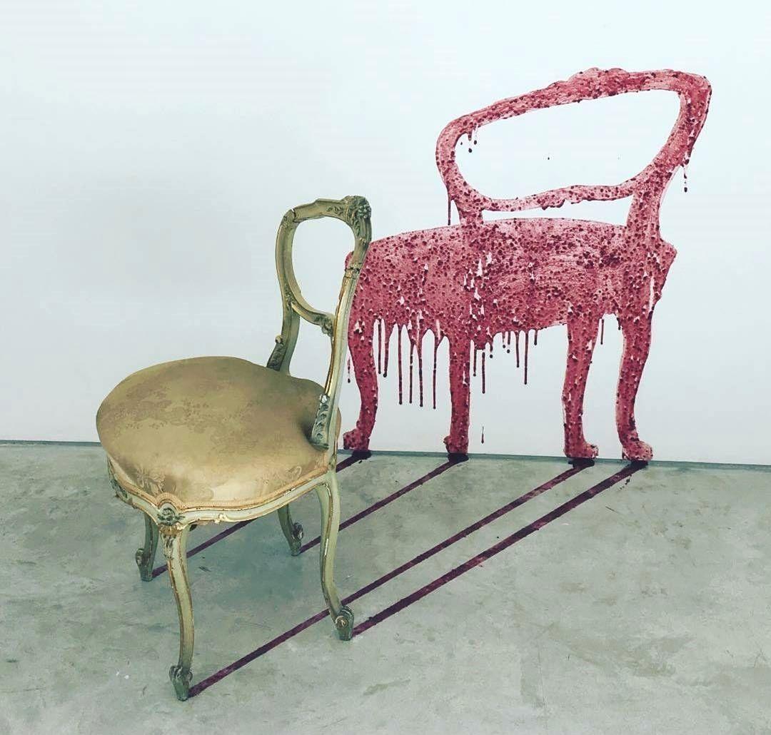 Artist Urs Fischer Art Cube Chair Artist