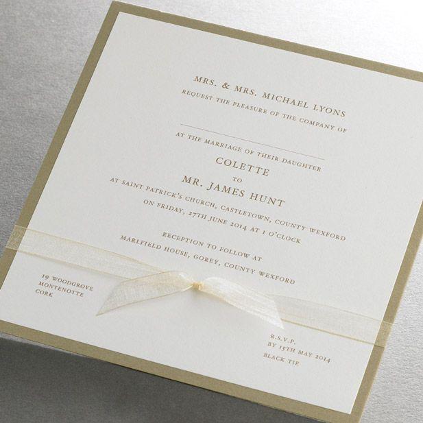 Traditional Wedding Invitation Wording Wedding invitations