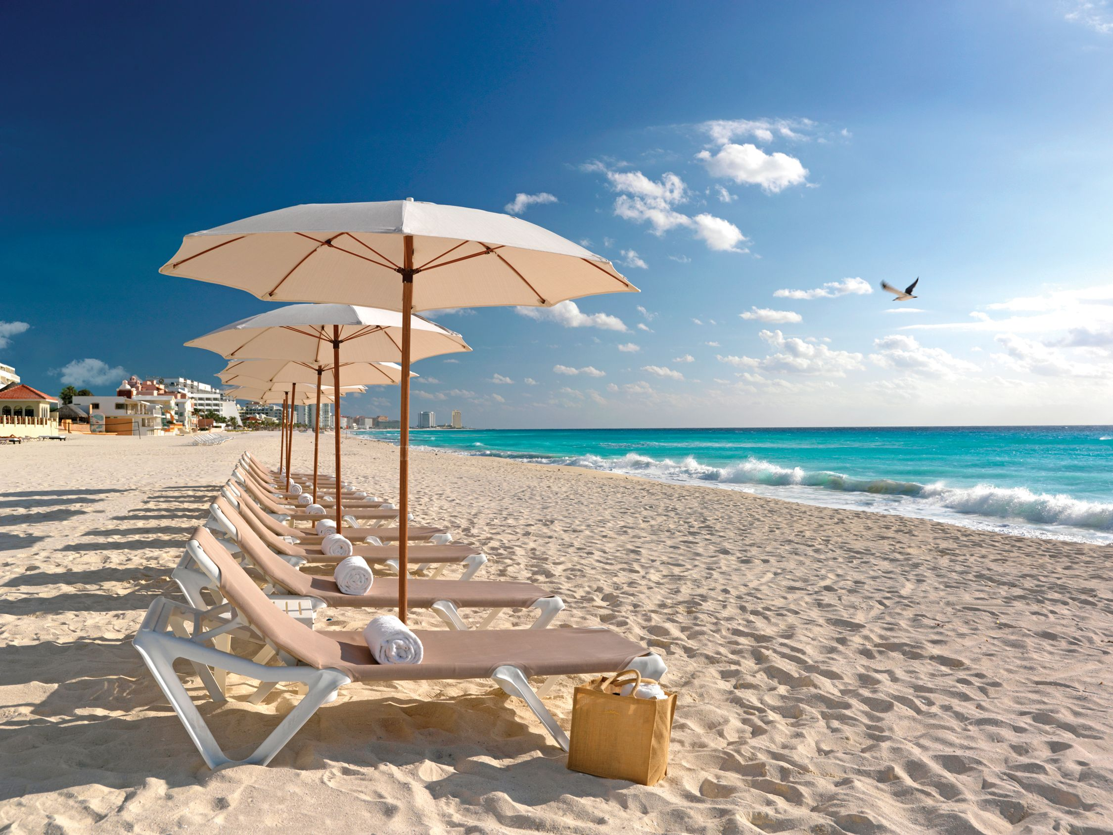 The Beach At Palace Family All Inclusive Resort Located In Cancun Mexico