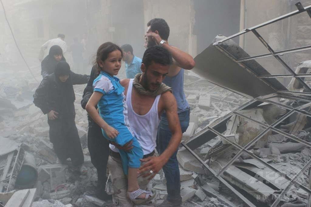 【AFP記者コラム】墓場と化したアレッポの街を撮り続けて 国際ニュース:AFPBB News
