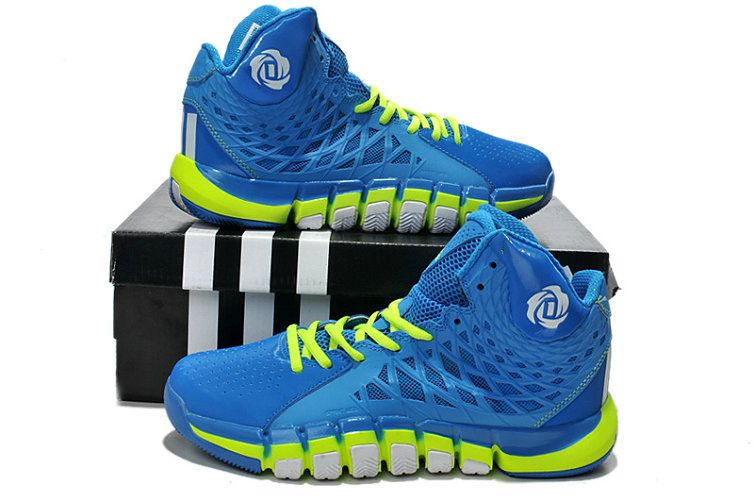 68c9f0124280 Adidas Rose 773 2.0 Triple Blue Volt Lime Green