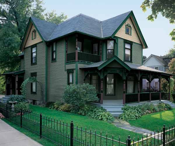 Paint-Color Ideas For Ornate Victorian Houses