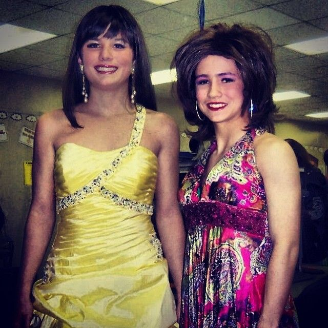 Womanless Pageant 8th Grade With Images Womanless Beauty