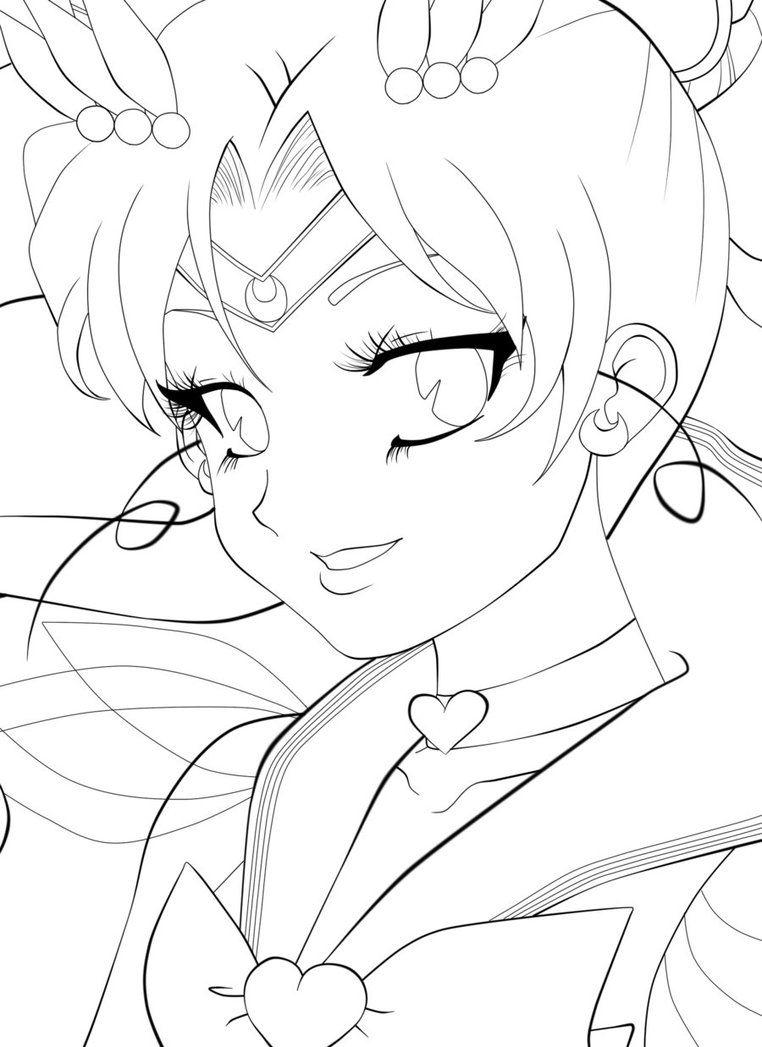Pin de SUSIE Petri en LineArt: Sailor Moon | Pinterest