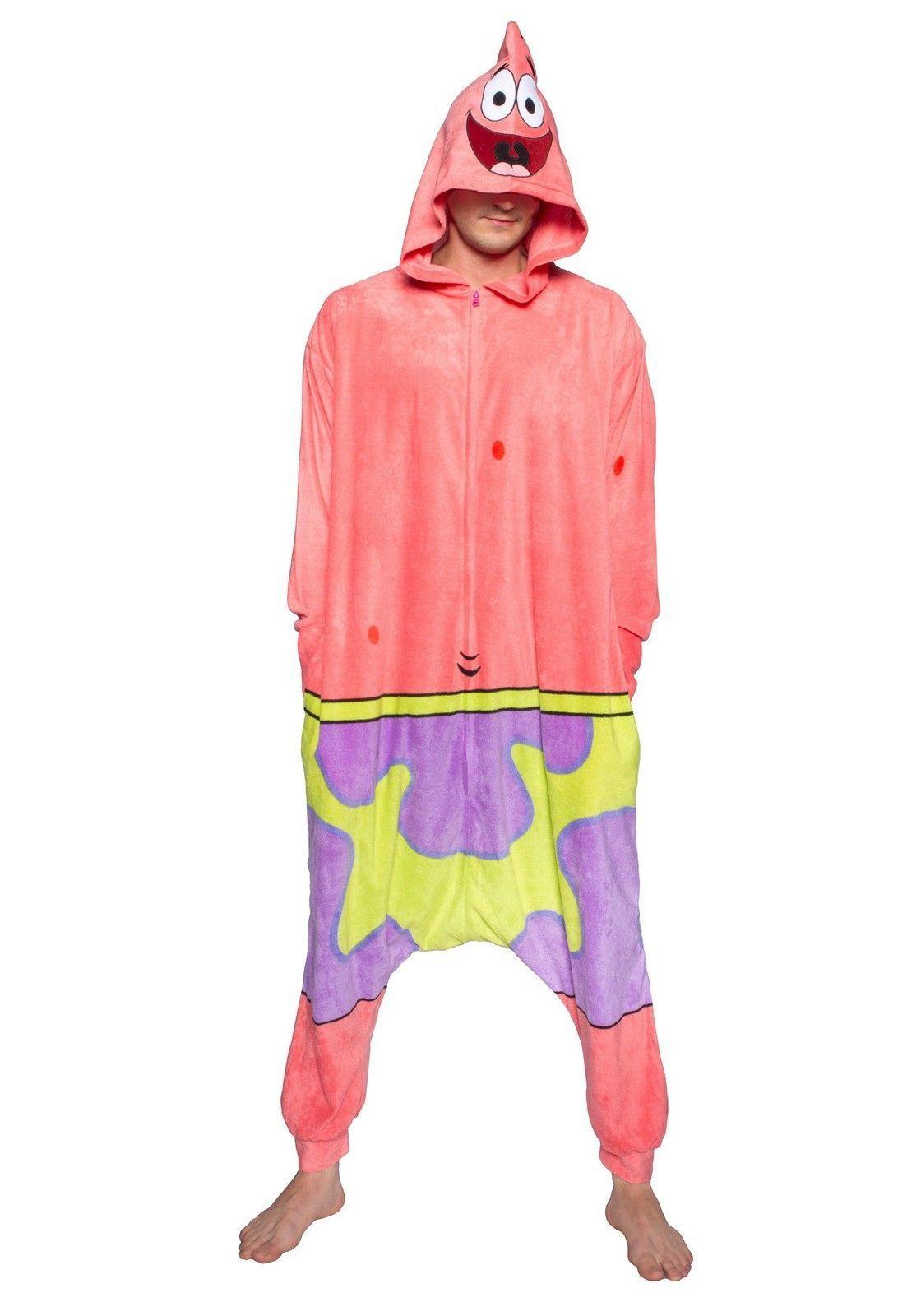 c069808ae9 SpongeBob Patrick Onesie For Adults. SpongeBob Patrick Onesie For Adults  Pijamas Divertidos