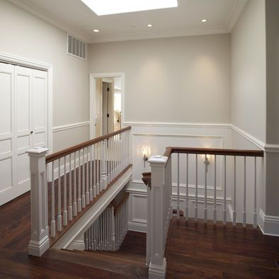 Benjamin Moore Edgecomb Gray For The Flowing Space Foyer Up