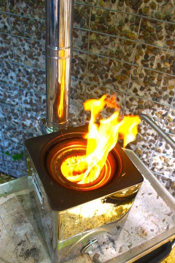 Hunter Chimney Gasifier Stove | Stoves: Backpack Stove, Fixed Chimney, Gasifier, Rocket Stove, & TLUD Stoves