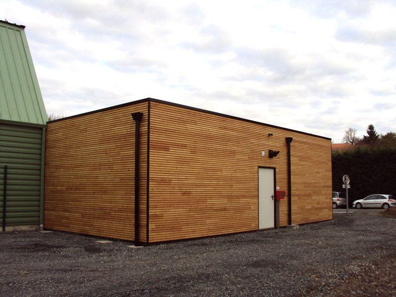 SARL Bauvineau-maison ossature bois et extension bois maison - Agrandissement Maison Bois Prix M