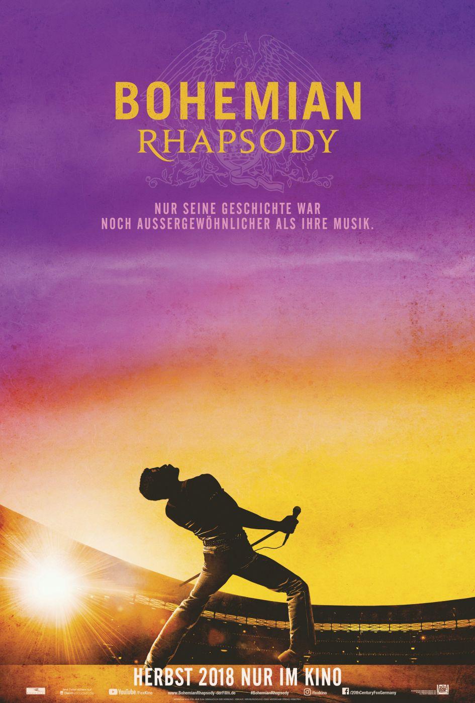 Resultado de imagen de bohemian rhapsody film 2018