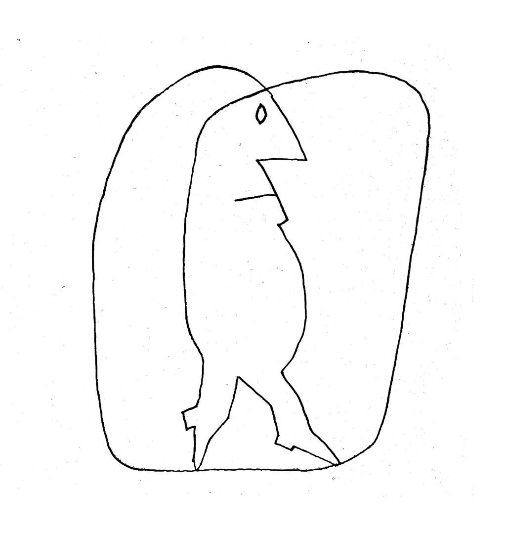 Dionyssos Saul Steinberg Illustration