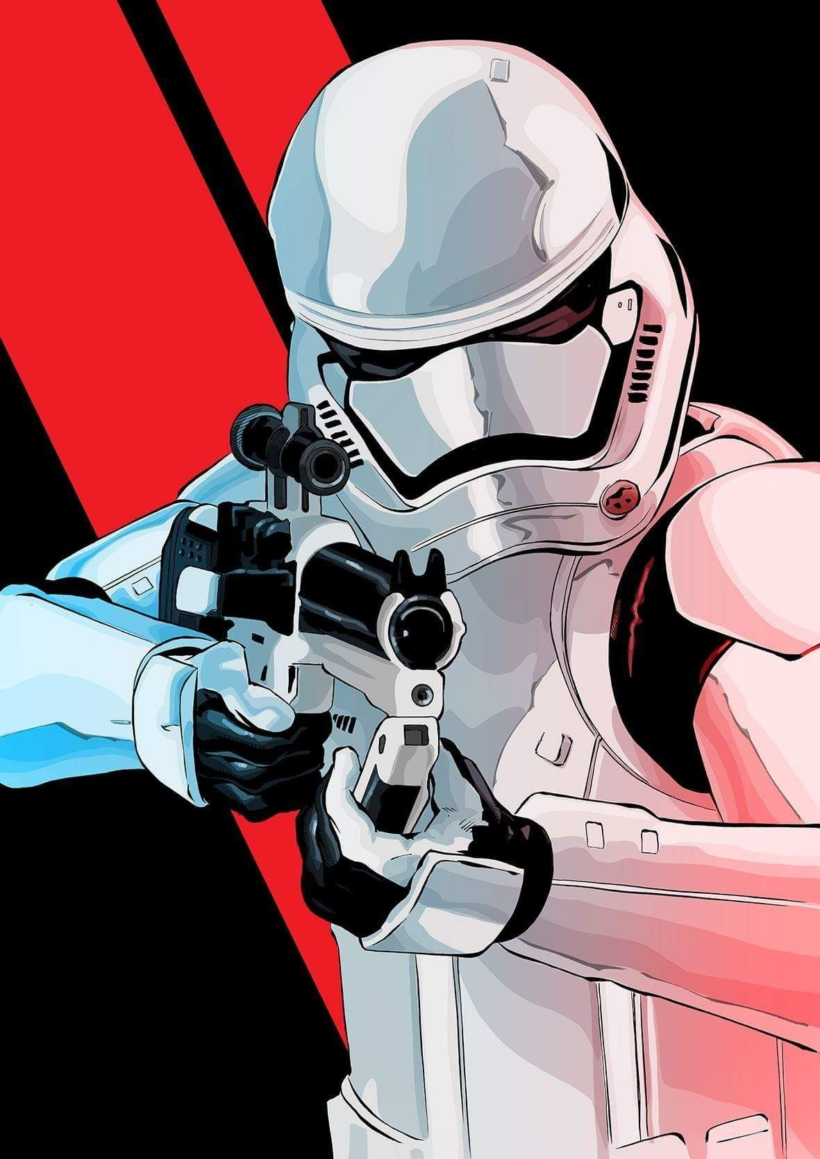 Star Wars First Order Stormtrooper Star wars poster