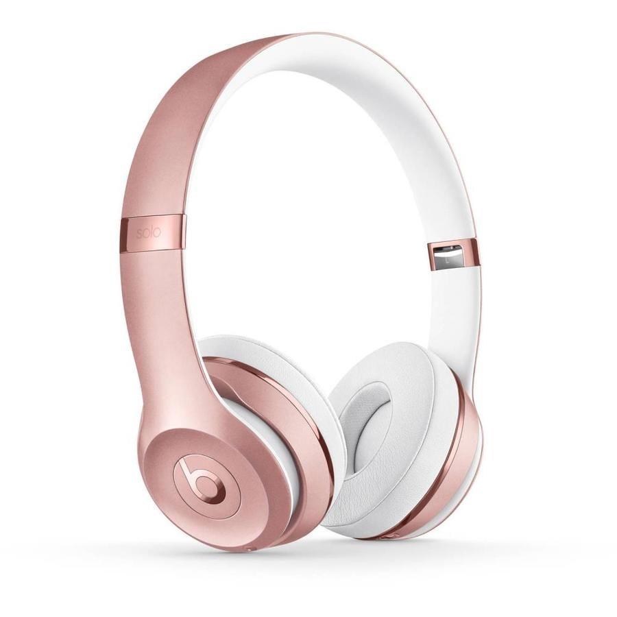Apple Solo3 Blue Tooth Wireless Headphones Rose Gold Lowes Com Wireless Headphones Bluetooth Headphones Wireless Dre Headphones