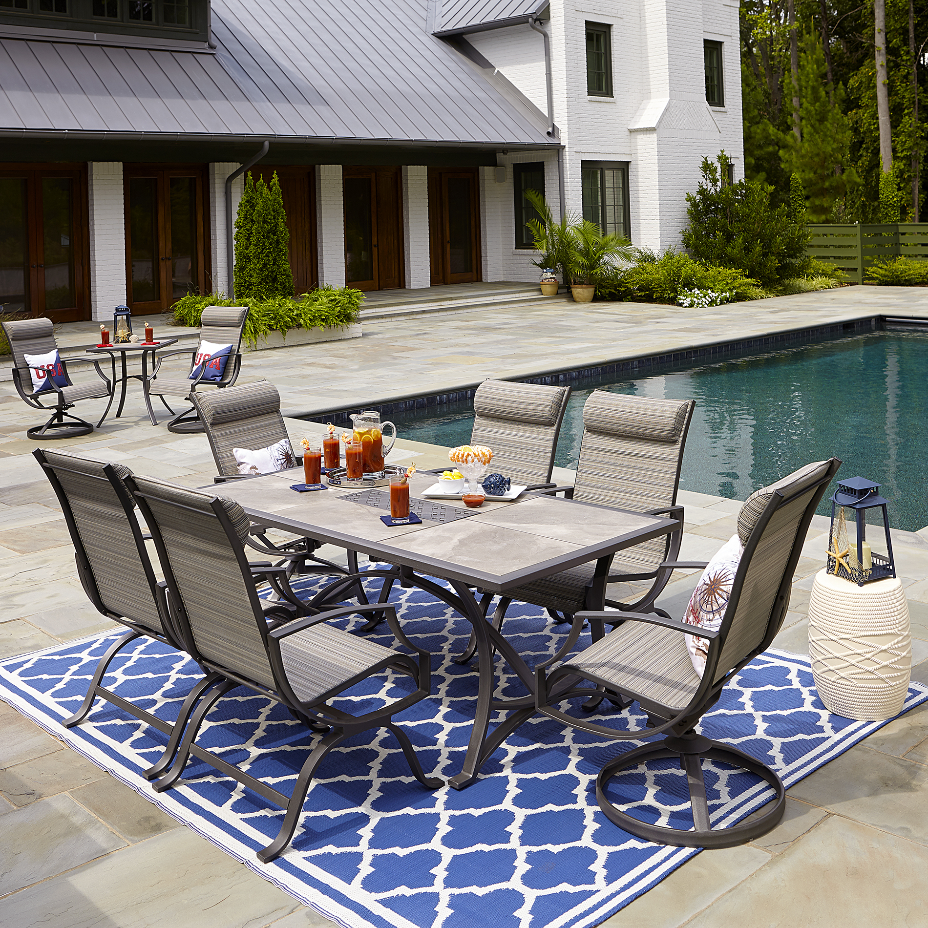24+ Sling back outdoor dining set Tips