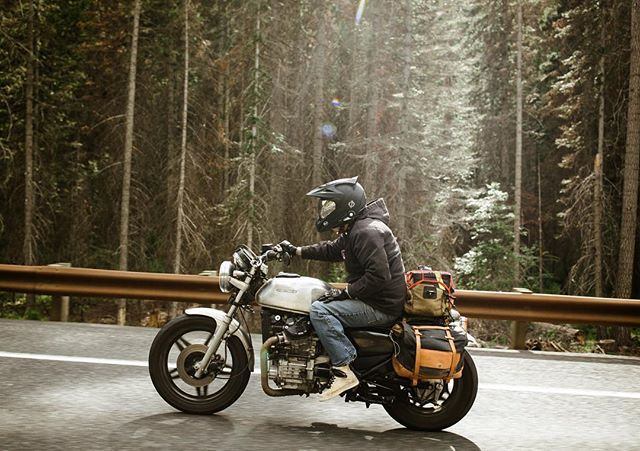 Cutting and sewing all week while dreaming of camp trips on two wheels.
