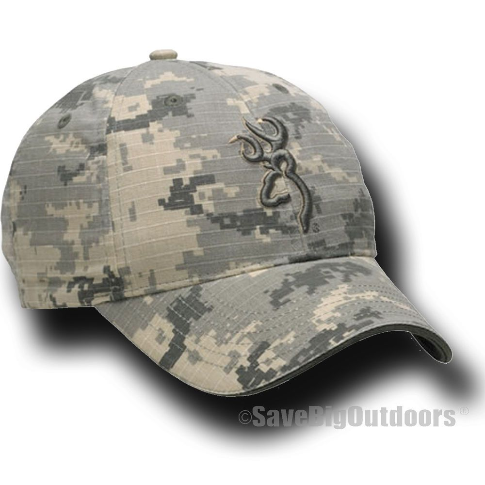 NEW Browning Digi Desert Camo Ball Cap Hat with buckmark logo  06291 02db7ac042a