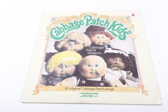 Vintage Cabbage Patch Kids Dreams Lp Vinyl Record Songs Etsy Cabbage Patch Kids Patch Kids Vinyl Records
