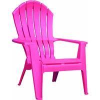 Pink Ergo Adirondack 8371 07 3700 By Adams Mfg Patio Furn White
