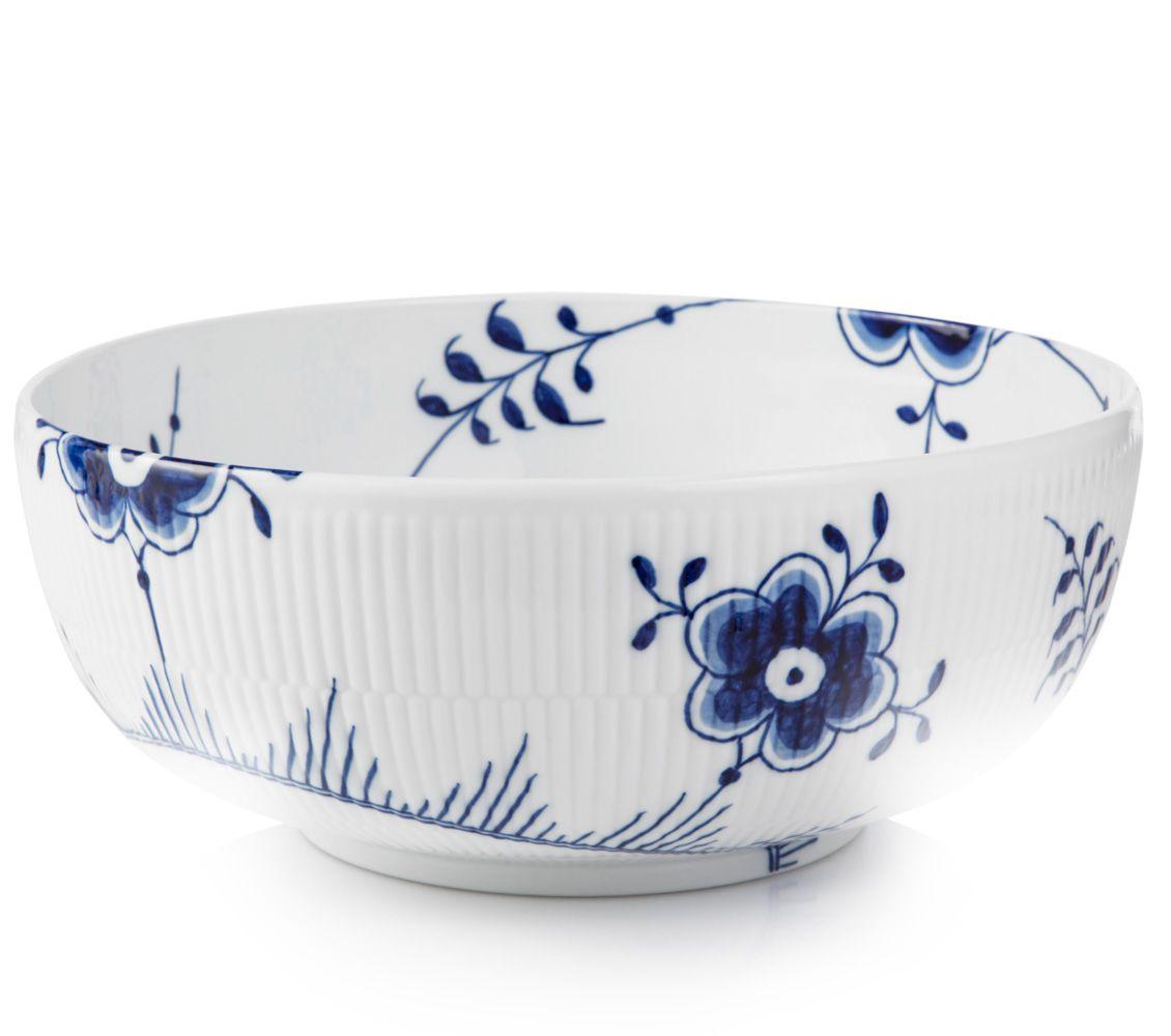 Blue Fluted Mega Bowl