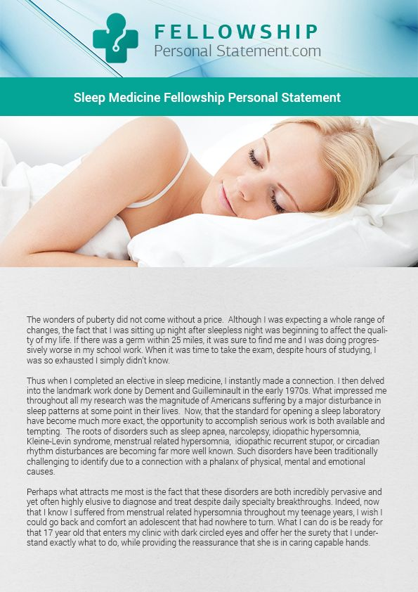 There are various services that the company provides, but in the field Sleep medicine fellowship pro