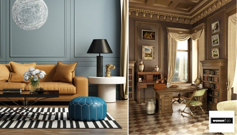 Interieur Strak Klassiek : Hoe ziet jouw ideale interieur eruit? strak modern klassiek