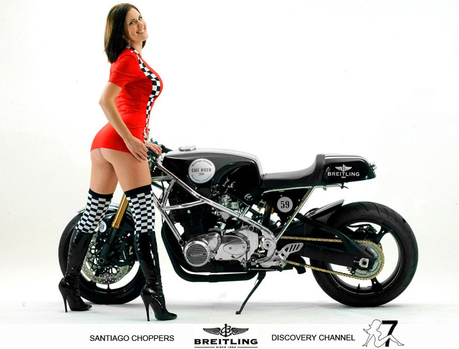 Pinup Women Cafe Racer