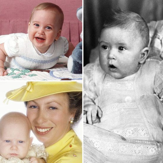 Royal baby portraits from little elizabeth to adorable prince george