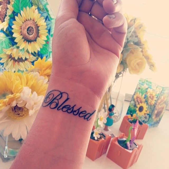 6b104e98eeb5f 65 Spiritual Truly Blessed Tattoo Designs - Holy Symbols on Your Body
