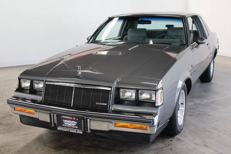 1986 Buick Regal T Type Turbo Buick regal, Buick, Buick gs
