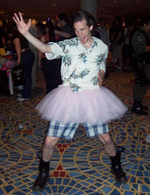 Ace Ventura in a Tutu Halloween costume ideas Pinterest - pop culture halloween costume ideas