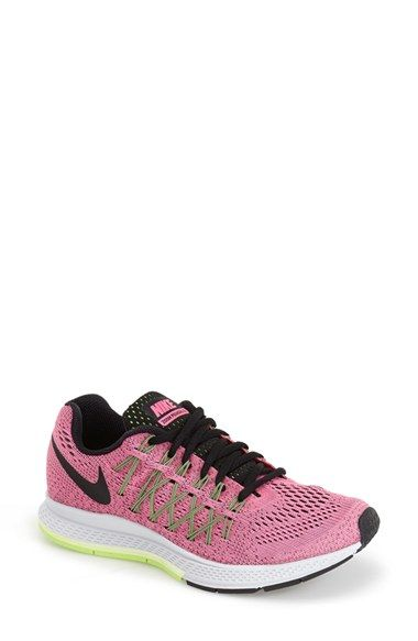 first rate f6914 46a1f Nike  Zoom Pegasus 32  Running Shoe (Women) available at pink pow volt black  color  Nordstrom