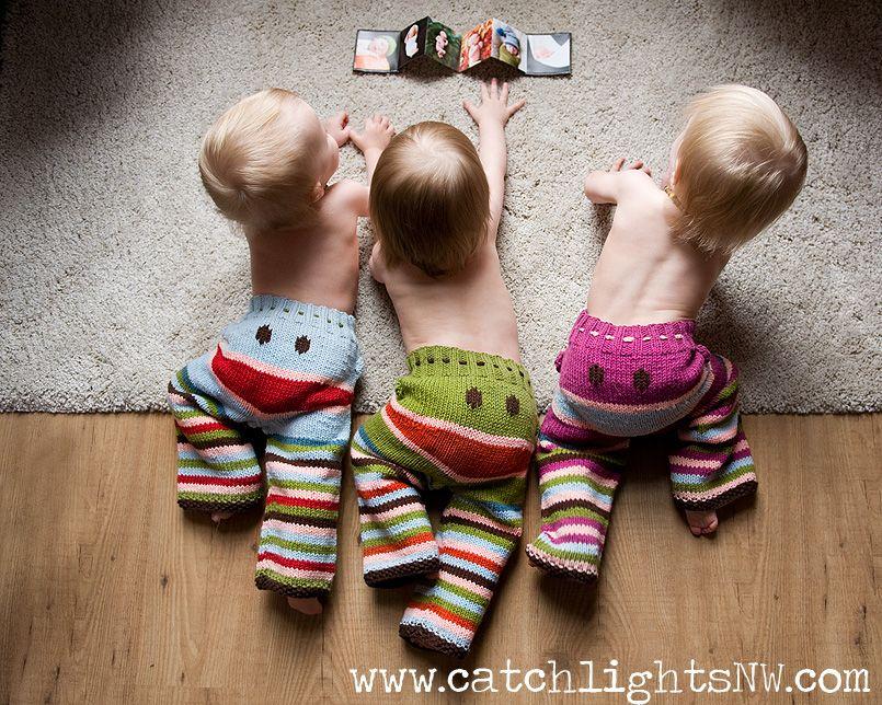 triplet bums :)