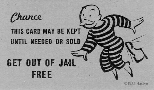 If Only This Was Real Life Jail Free Cards Guerilla Marketing