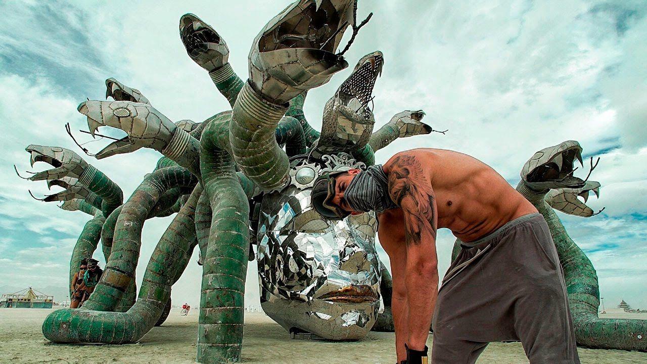 A Burning Man Film. Burning man film, Burning man, Epic